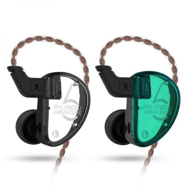 Kz As06 3ba Drive Unit In Ear Earphones (5)