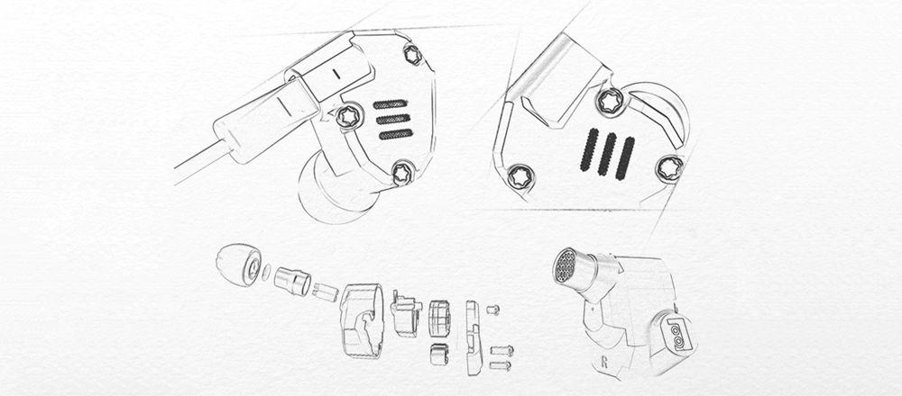 Kz Zs6 Hifi Dual Balanced Driver Earphones (1)