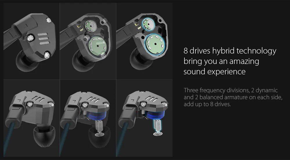 Kz Zs6 Hifi Dual Balanced Driver Earphones (12)