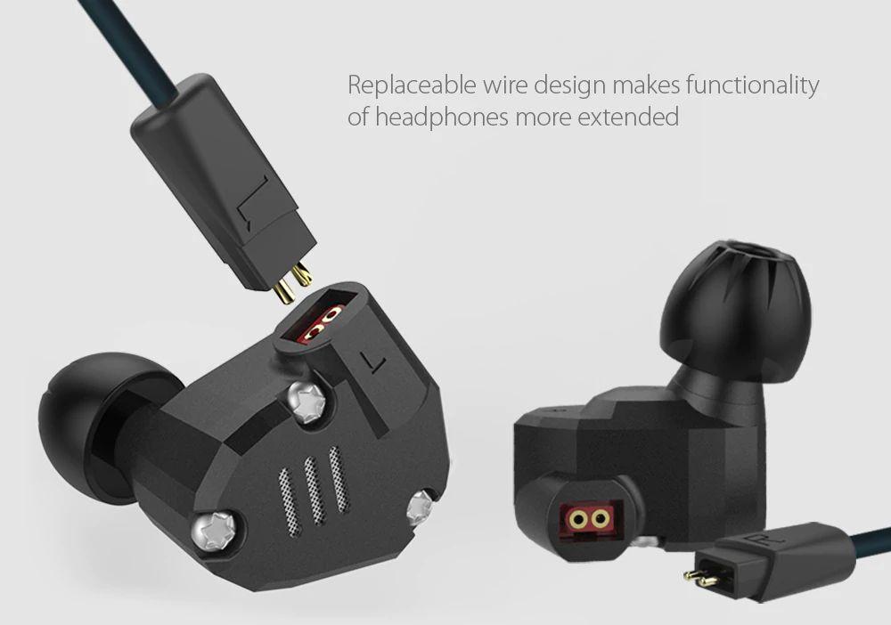 Kz Zs6 Hifi Dual Balanced Driver Earphones (13)