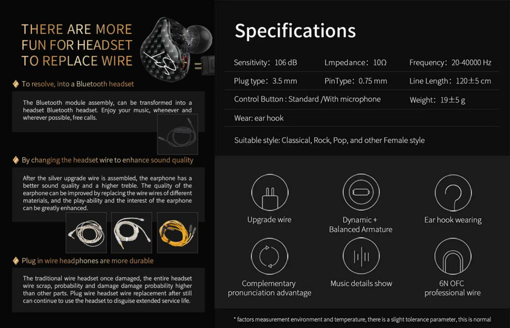 Kz Zst Hybrid Dual Driver In Ear Earphones (1)