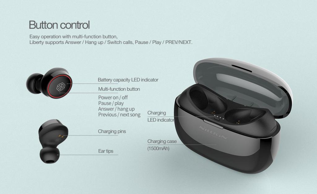 Nillkin Liberty E1 Tws Wireless Earphones (11)