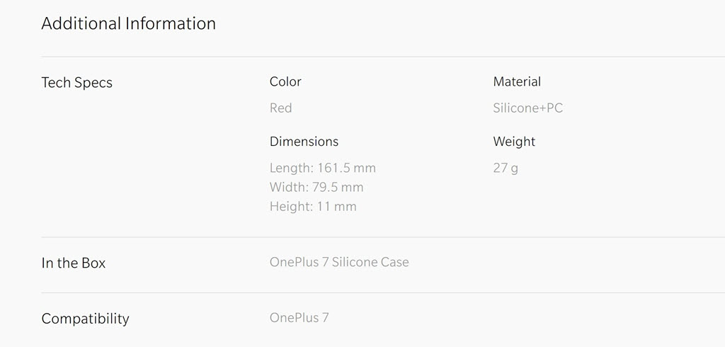 Oneplus 7 Silicone Protective Case (4)