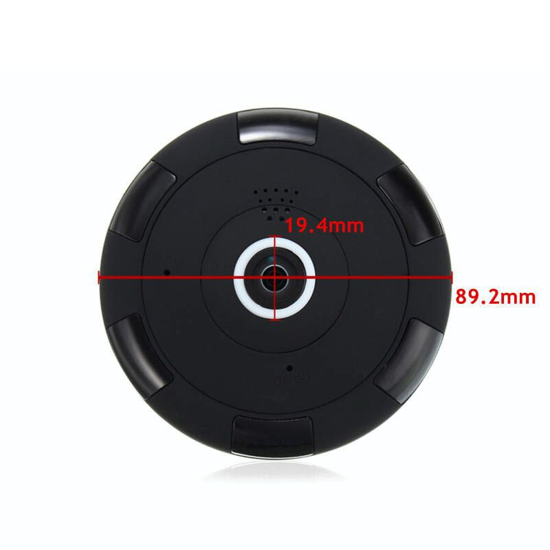 Panoramic Ip Camera 360 Degree Fisheye Security Camera 960p (4)