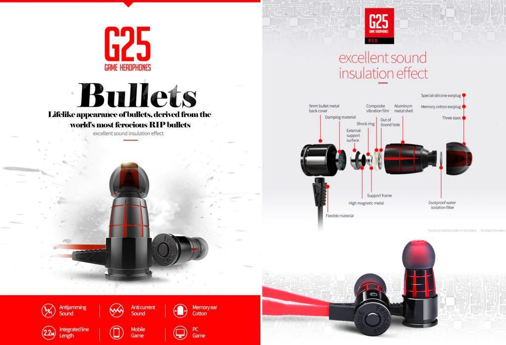 Plextone G25 Gaming Earphones (3)