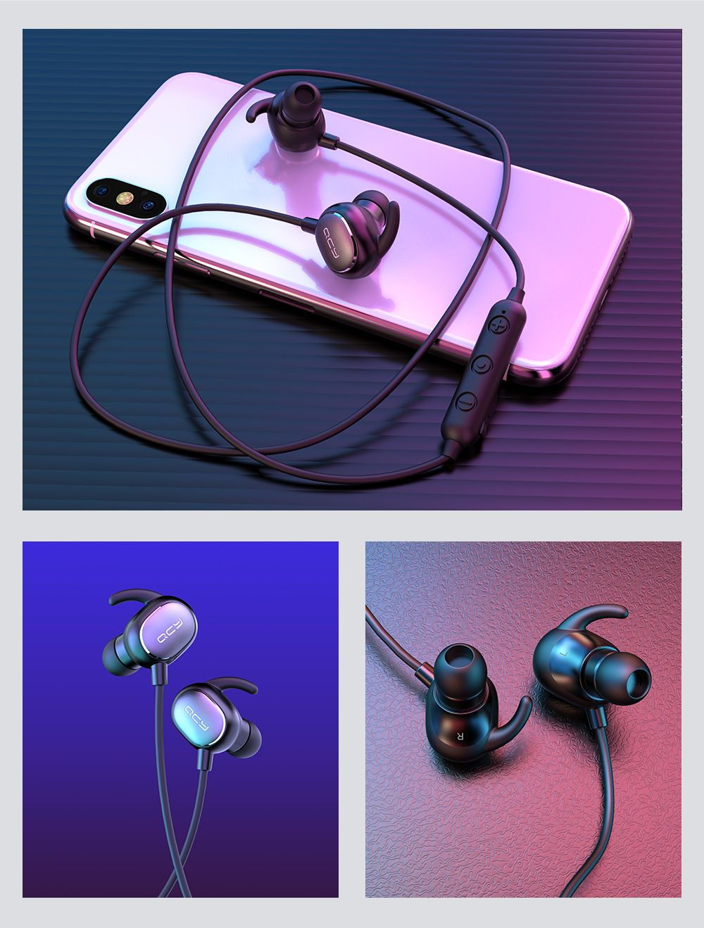 Qcy Qy19 Wireless Bluetooth 5 0 Earphones (7)
