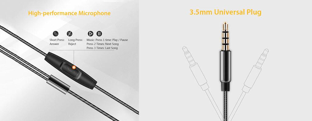 Qkz Kd10 Dual Driver In Ear Wired Earphones (1)