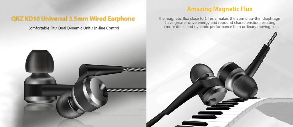 Qkz Kd10 Dual Driver In Ear Wired Earphones (2)