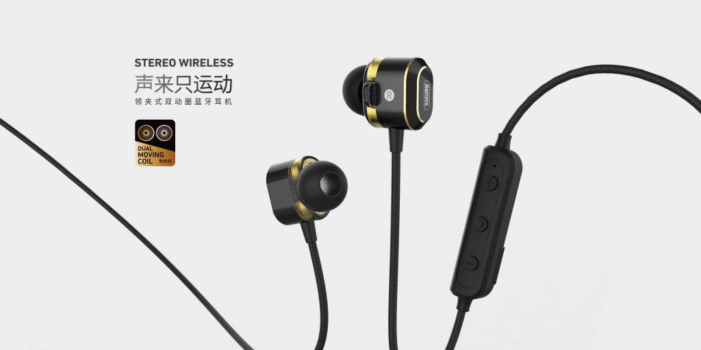 Remax Rb S26 Bluetooth 5 0 Wireless Stereo Sports Earphone (1)