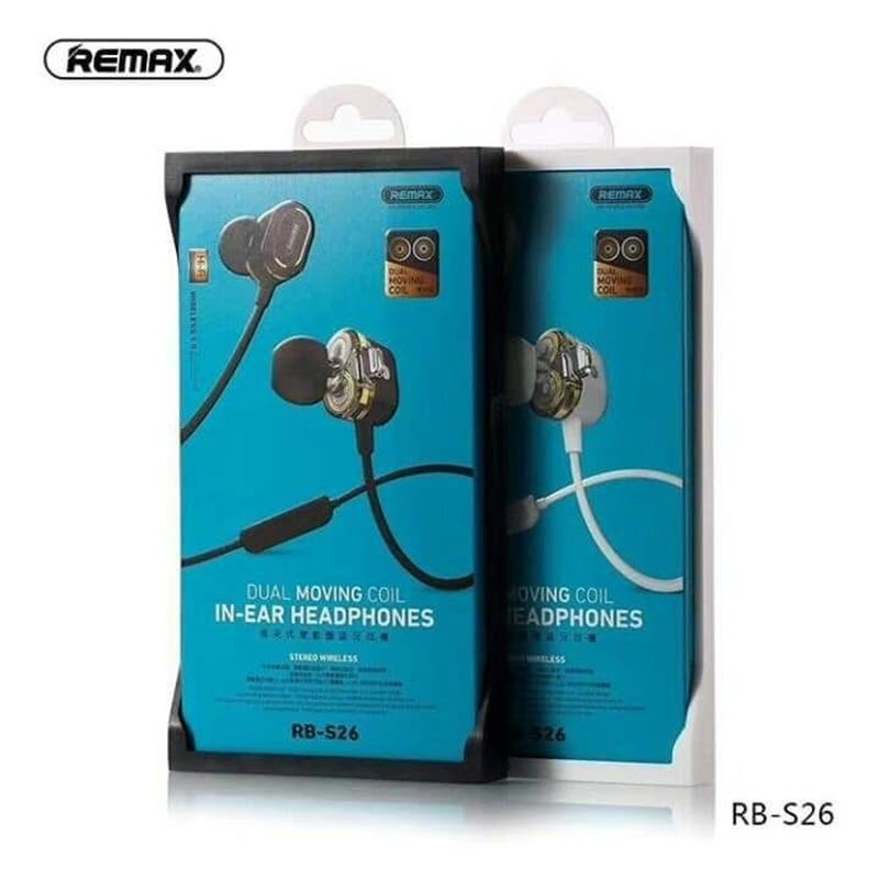 Remax Rb S26 Double Coil Bluetooth 5 0 Earphones Gadstyle Bd