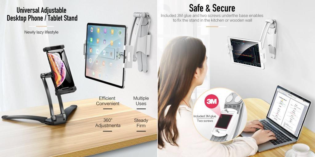 Rock 360 Universal Adjustable Desktop Phone Stand (6)