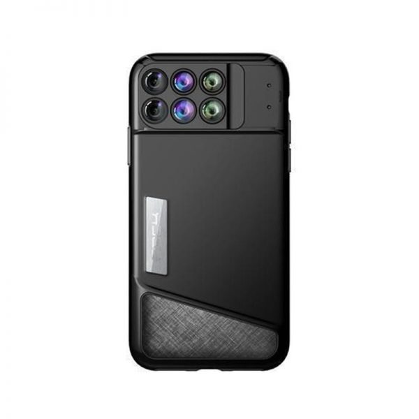 Rock 6 In 1 Camera Lens Kit Case For Iphone (3)