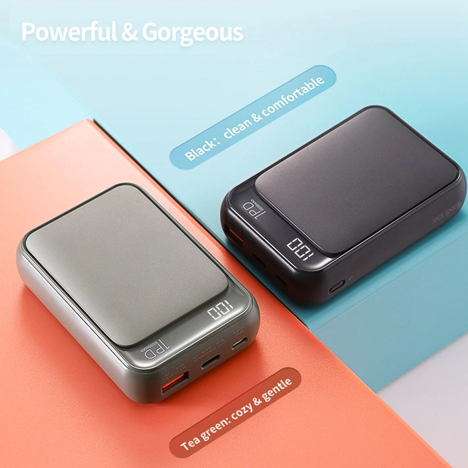 Rock Mini Pd Power Bank 10000mah (6)