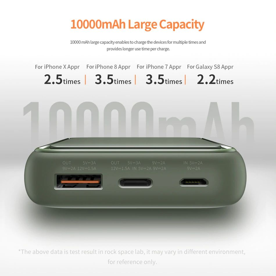 Rock Mini Pd Power Bank 10000mah (9)