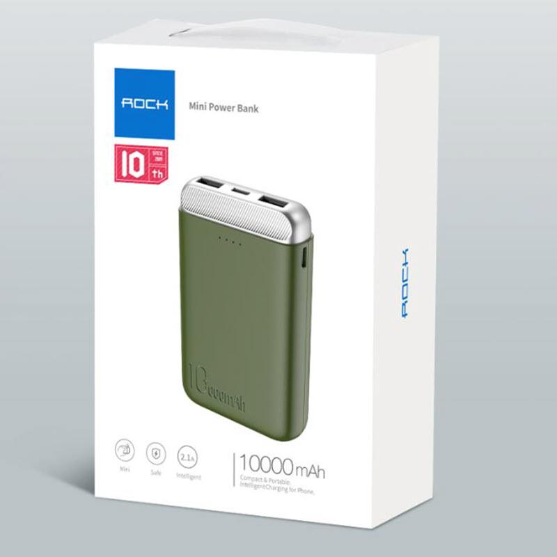 Rock P71 Mini Pd Power Bank 10000mah (6)