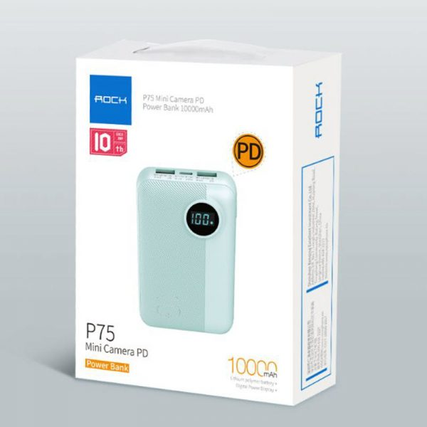 Rock P75 Mini Camera Power Bank 10000mah (29)