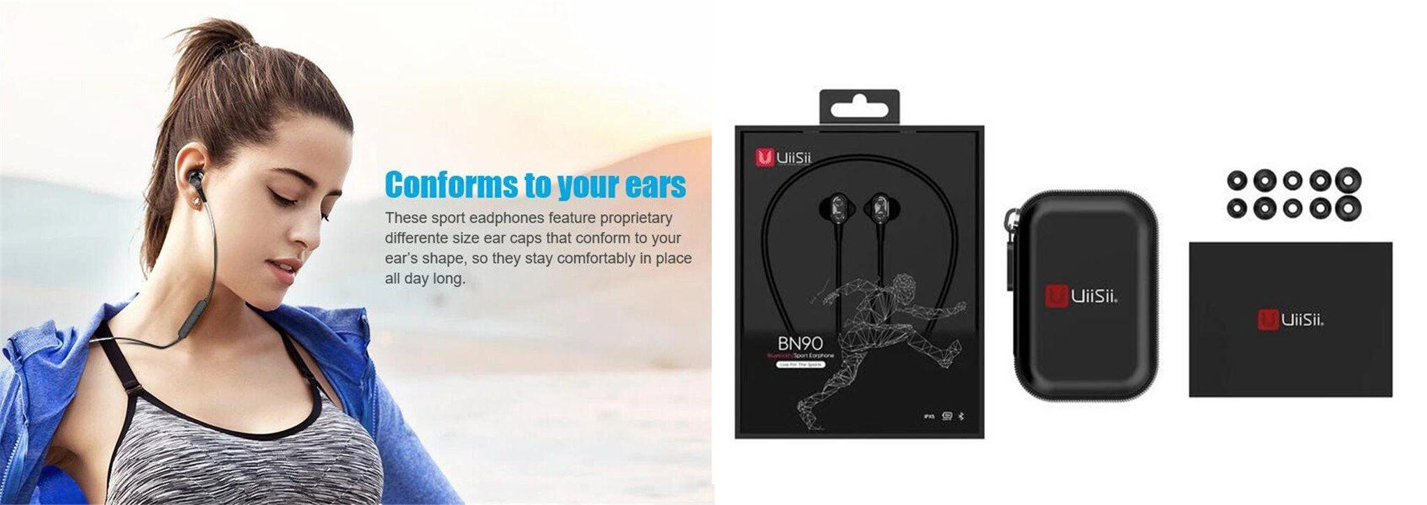 Uiisii Bt 260 Wireless Bluetooth Sports Earphones (4)