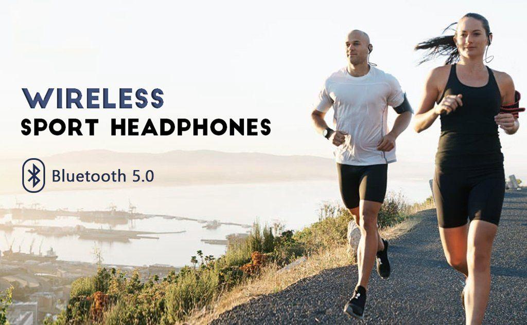 Uiisii Bt100 Wireless Bluetooth Sports Earphones (1)
