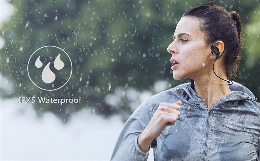 Uiisii Bt100 Wireless Bluetooth Sports Earphones (2)