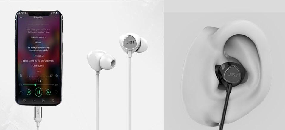 Uiisii I5 Lightning Earphones For Iphone Ipad And Ipod (2)