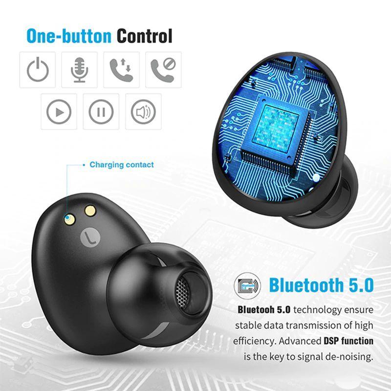 Uiisii Tws60 Bluetooth 5 0 Waterproof True Wireless Earbuds (11)