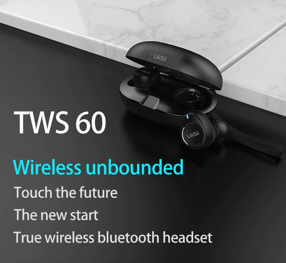 Uiisii Tws60 Bluetooth 5 0 Waterproof True Wireless Earbuds (5)