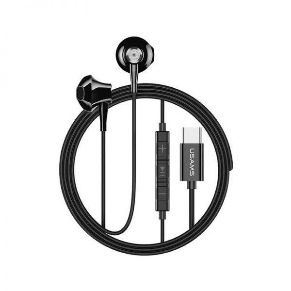 Usams Ep 25 Metal Type C Earphones