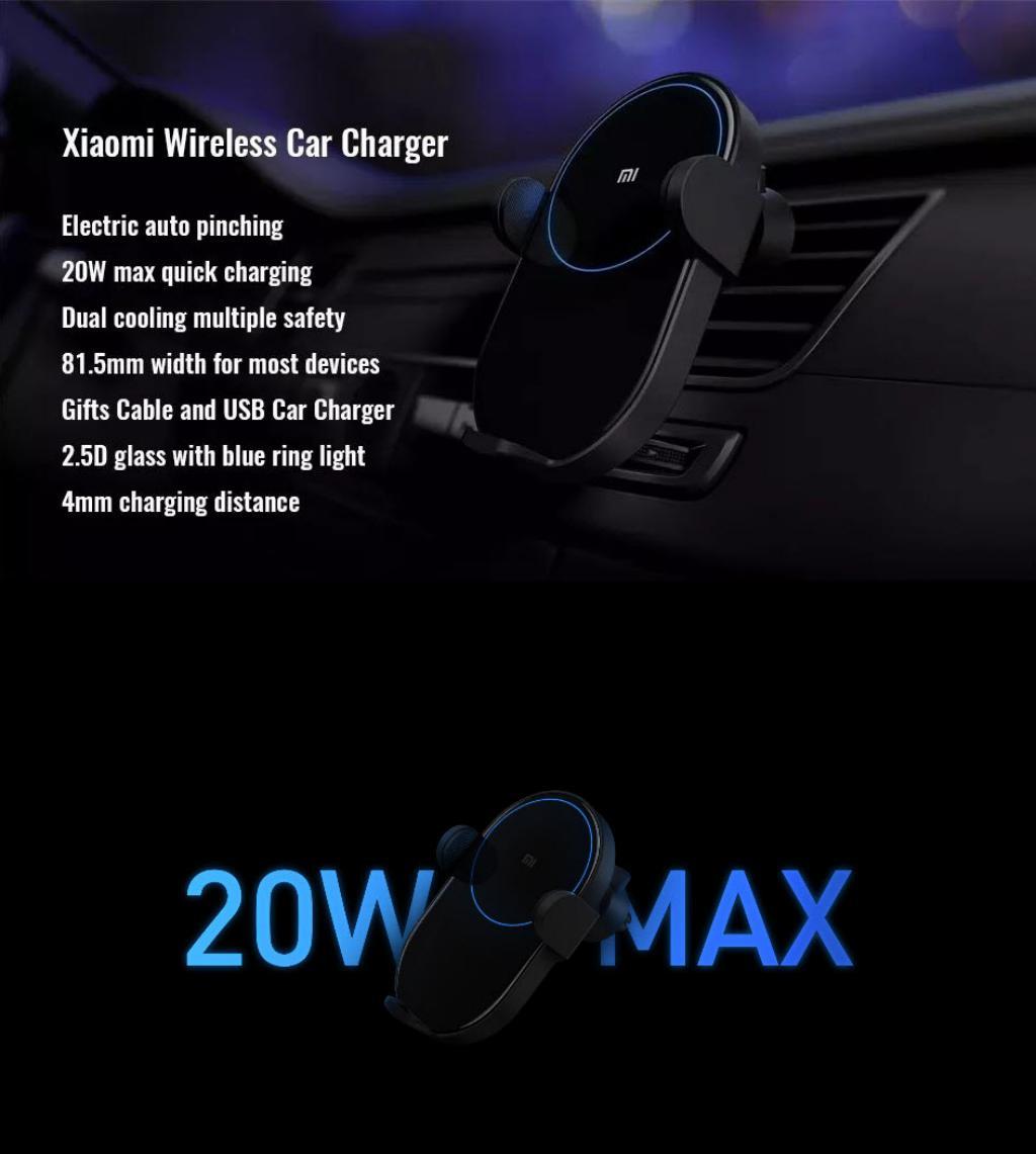 Xiaomi 20w Wireless Car Charger (4)