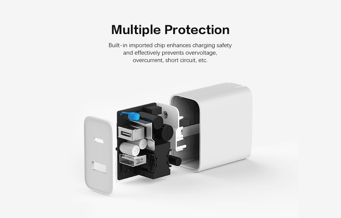 Xiaomi 30w 2 Port Usb C Wall Charger (5)
