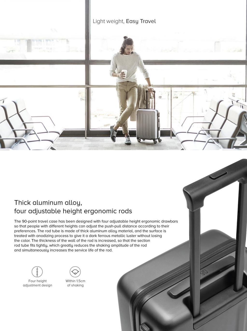 Xiaomi 90 Points Suitcase 20 Inches (4)