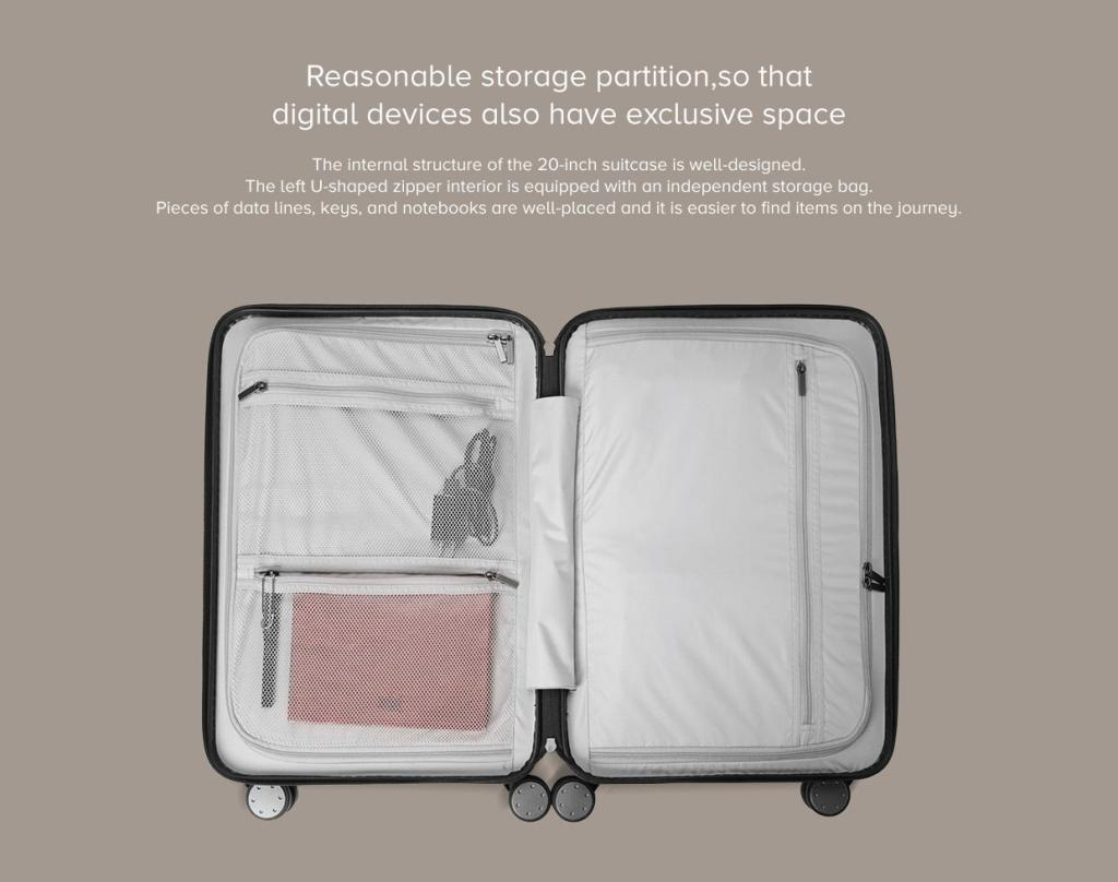 Xiaomi 90 Points Suitcase 20 Inches (7)