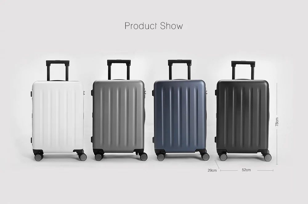 Xiaomi 90 Points Travel Suitcase 28 Inches (8)