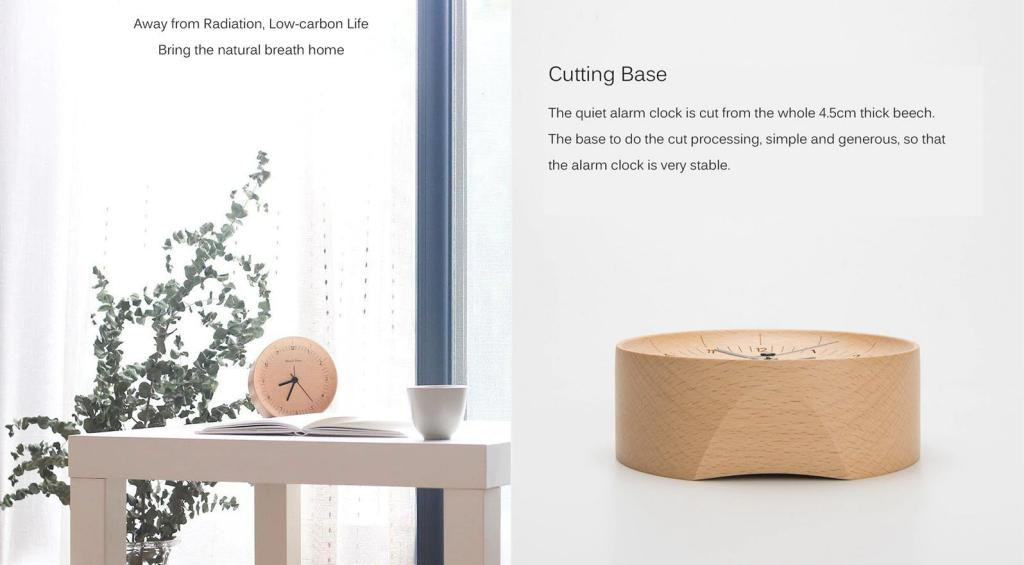 Xiaomi About Time Wooden Desktop Table Clocks (2)