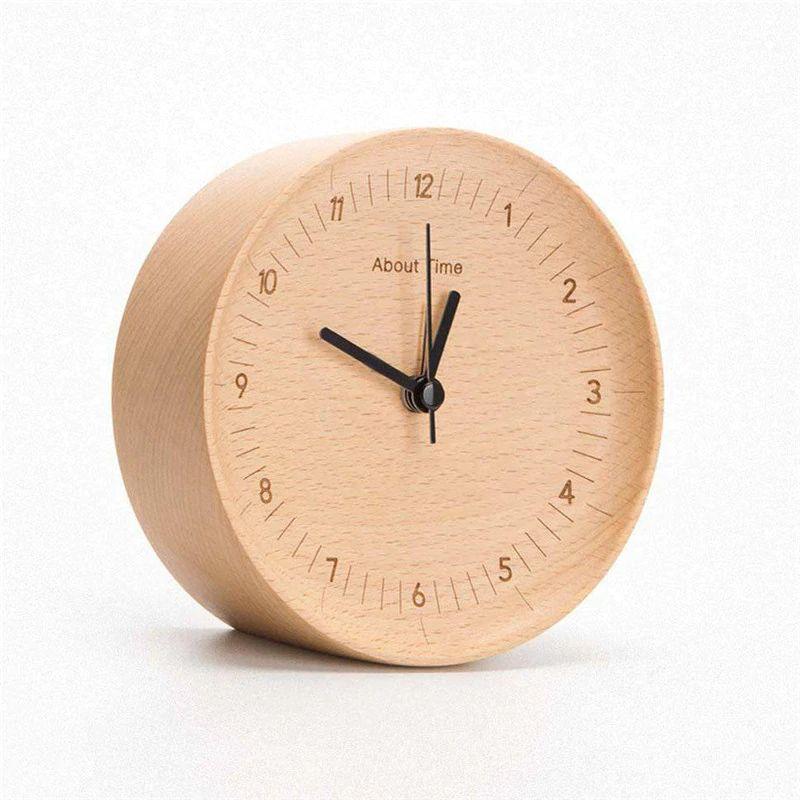 Xiaomi About Time Wooden Desktop Table Clocks (3)