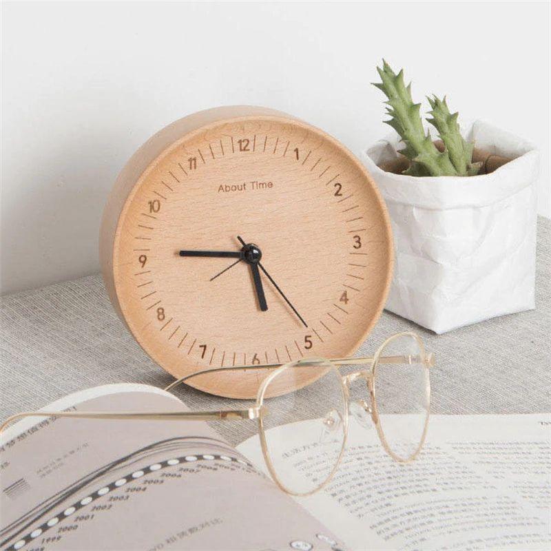 Xiaomi About Time Wooden Desktop Table Clocks (4)