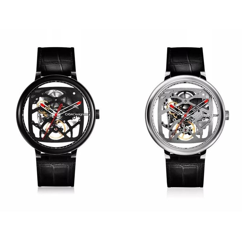 Xiaomi Ciga Design Creative Leather Strap Automatic Mechanical Men Watch (1)