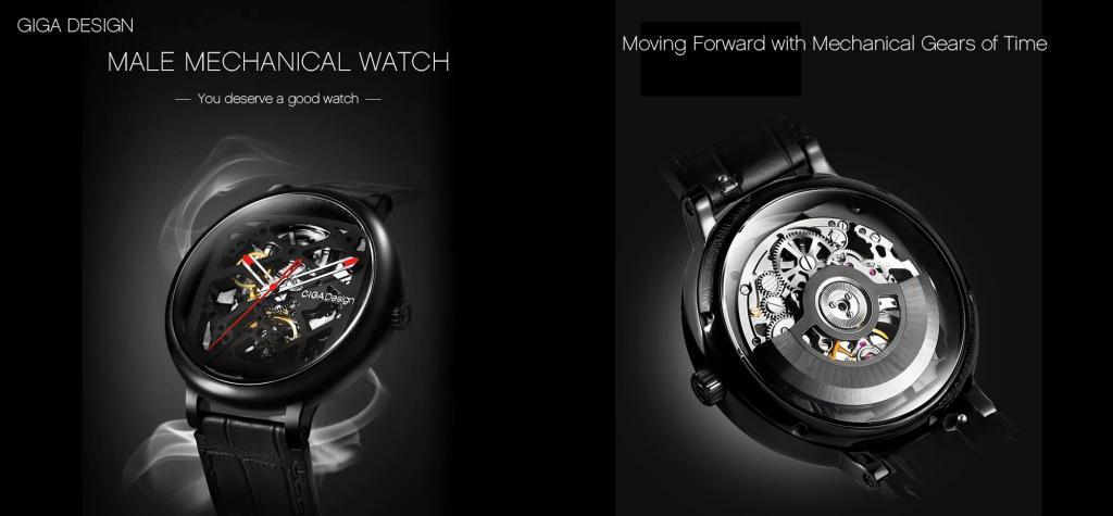 Xiaomi Ciga Design Creative Leather Strap Automatic Mechanical Men Watch (4)