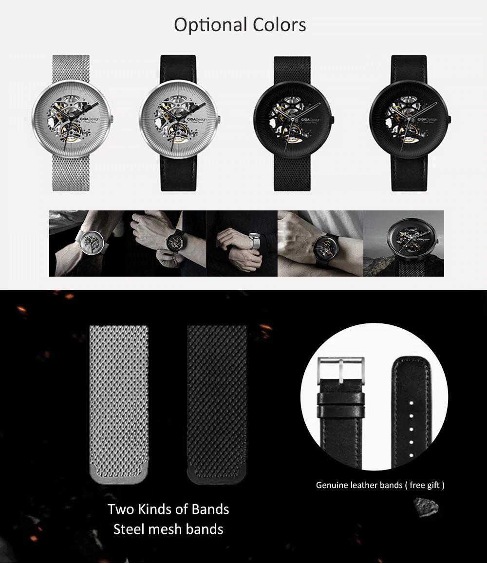Xiaomi Ciga Design Hollow Out Mechanical Watch (2)