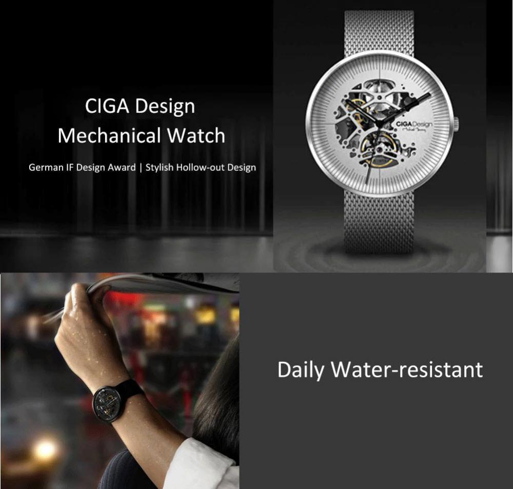 Xiaomi Ciga Design Hollow Out Mechanical Watch (4)