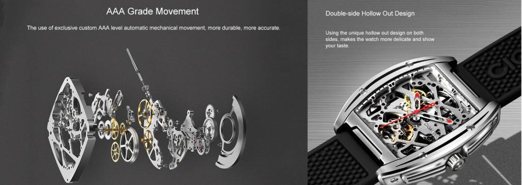 Xiaomi Ciga Design Z Series Mechanical Mens Watch (3)
