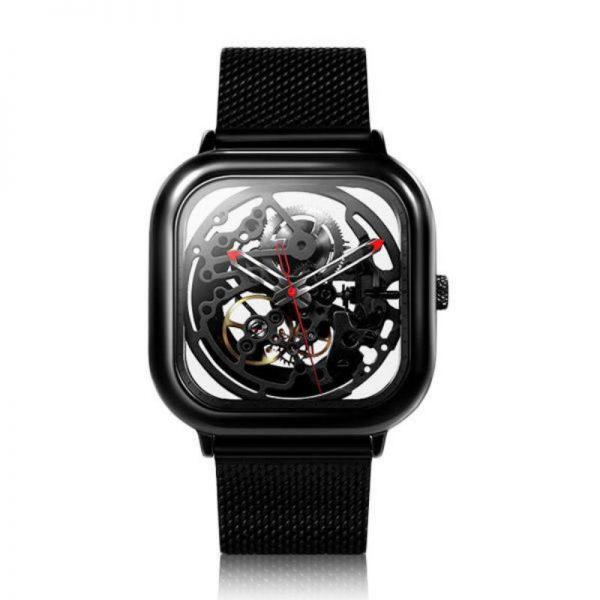 Xiaomi Ciga Wristwatch Hollow Mechanical Stainless Steel Mens Watch (3)