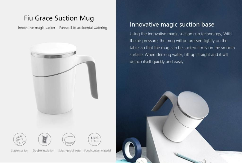 Xiaomi Fiu Grace Suction Mug (1)