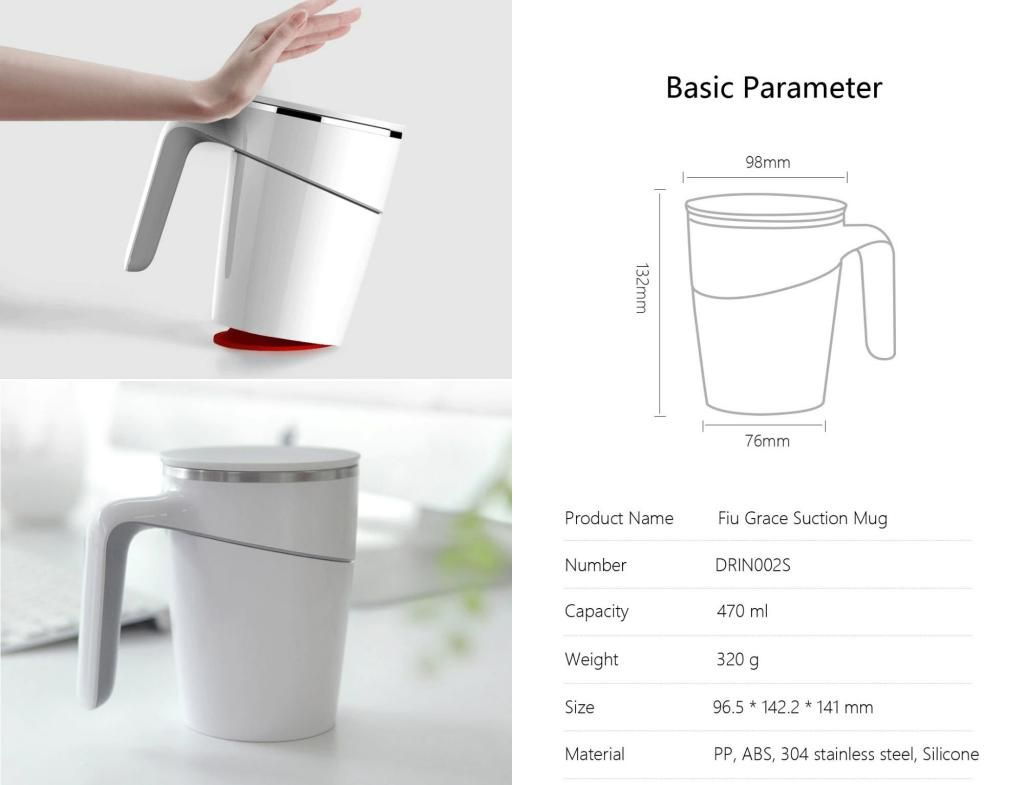 Xiaomi Fiu Grace Suction Mug (5)