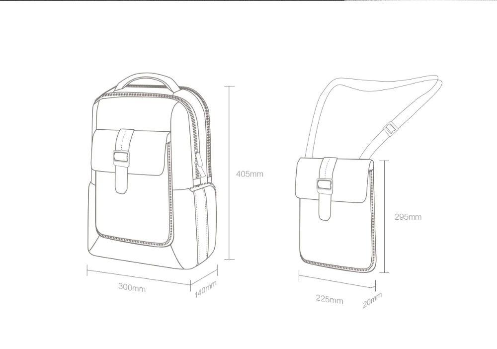 Xiaomi Mi 2 In 1 Fashion Commuter Backpack 15 6 Inch (1)