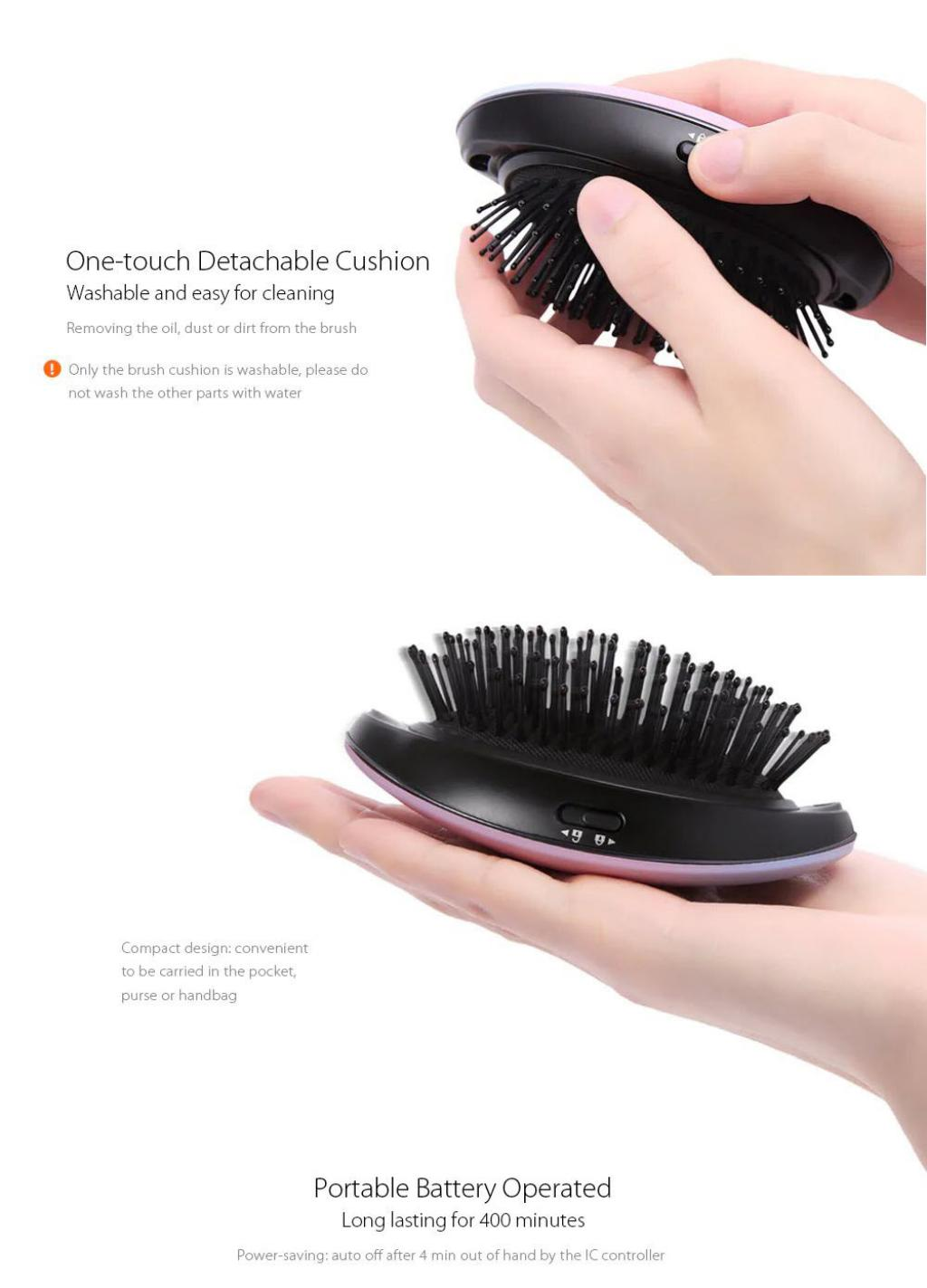 Xiaomi Mi Home Yueli Portable Anion Hair Brush (5)