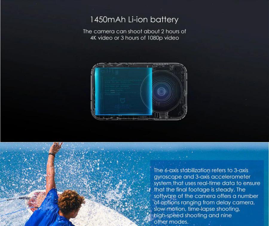 Xiaomi Mijia 4k Mini Action Camera (6)