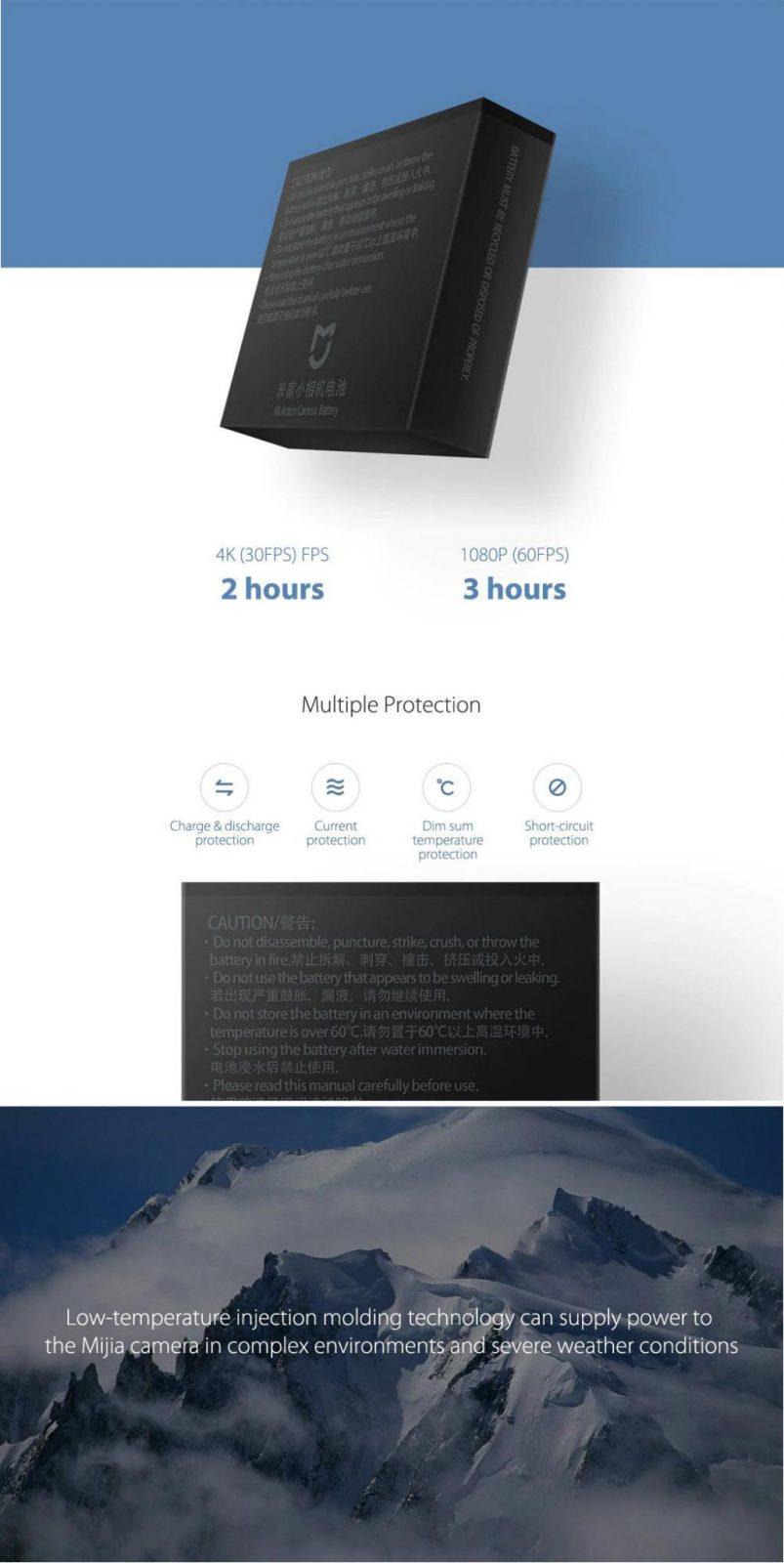 Xiaomi Mijia Standby Battery 1450mah Capacity (2)