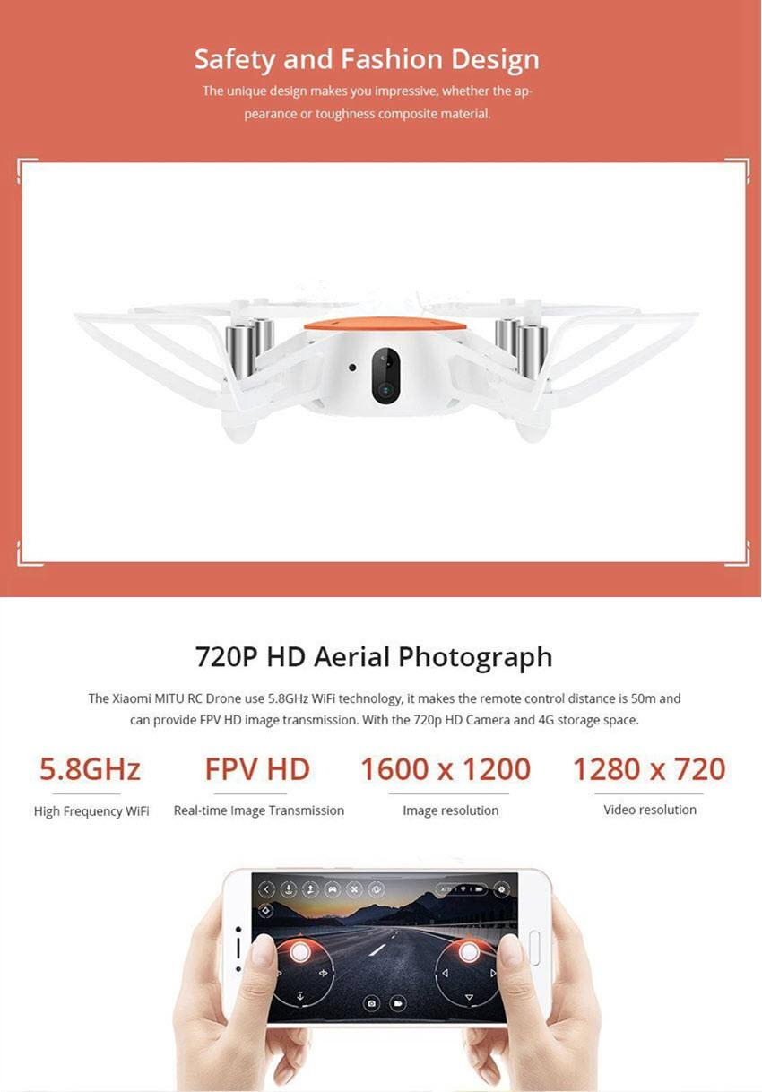 Xiaomi Mini Drone With 720p Hd Camera (1)