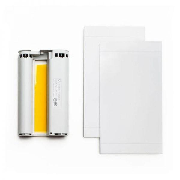 Xiaomi Mobile Printer Photo Paper Ink Ribbon Set (4)