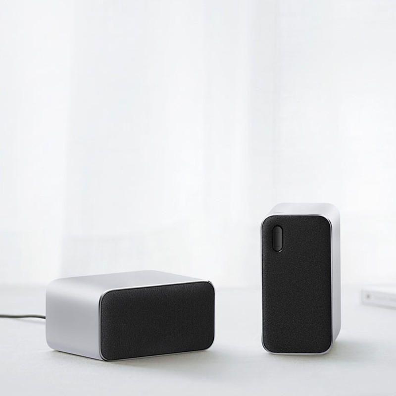 Xiaomi Portable Wireless Bluetooth Computer Speaker 2pcs (1)